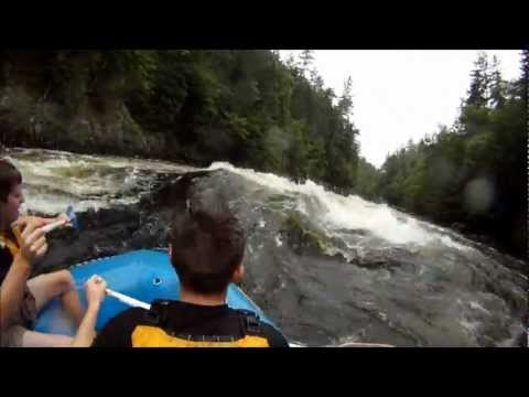 Whitewater Rafting on the Kennebec River, Maine. GoPro HD!