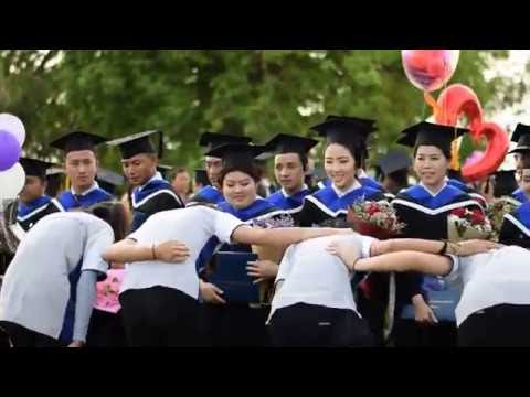 Cheering New Graduates, Asia Pacific International University