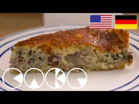 QUICHE LORRAINE Rezept - BACON CAKE RECIPE