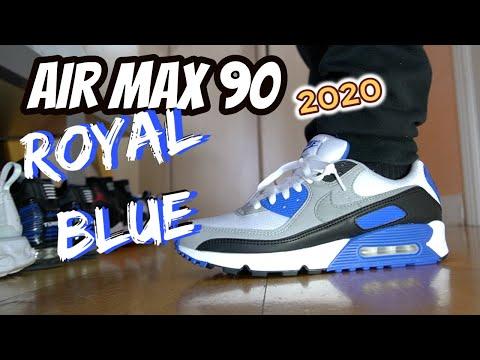 air-max-90-royal-blue-og-review-&-on-feet