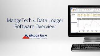 MadgeTech 4 Data Logger Software Overview