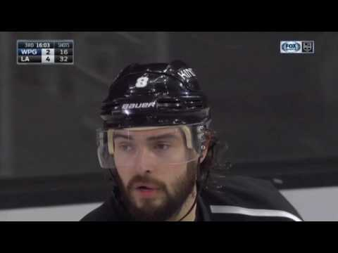 Drew Doughty Scores on Connor Hellebuyck | Kings Lead Jets 4-2