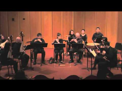 Chinese Music Ensemble - Purple Bamboo Tune - Han Lyric Tune