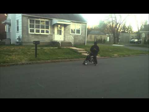5hp Mini Bike Vs. 50cc Dirt Bike