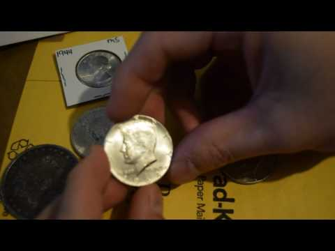 Unboxing Kennedy Silver Half Dollars, Quarter, Morgan, And U.S. Army Commemorative Coin