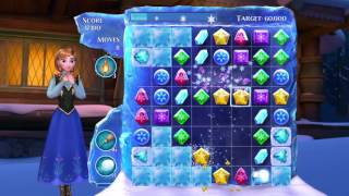 Frozen Free Fall: Snowball Fight. Level 90, 3 stars