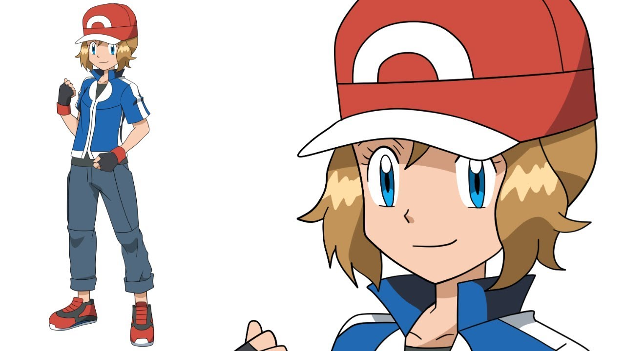 Serena Mega Evolution - Pokemon XY - Speed Drawing - YouTube
