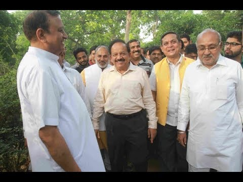 Dr Harsh Vardhan launches public outreach programme in his constituency