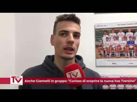 Anche Giannelli in gruppo: