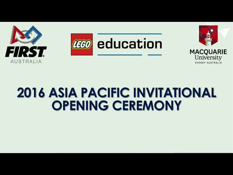 FIRST® LEGO® League Asia Pacific Open Championship Opening Ceremony