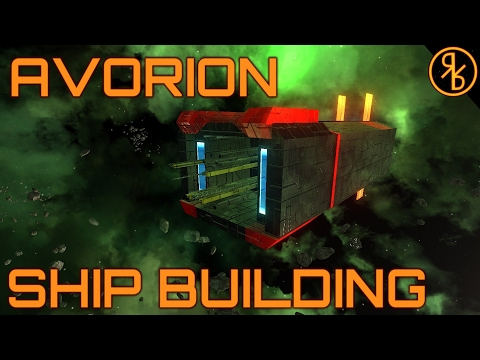 106 Crew Realistic Ship - Avorion Ship Building