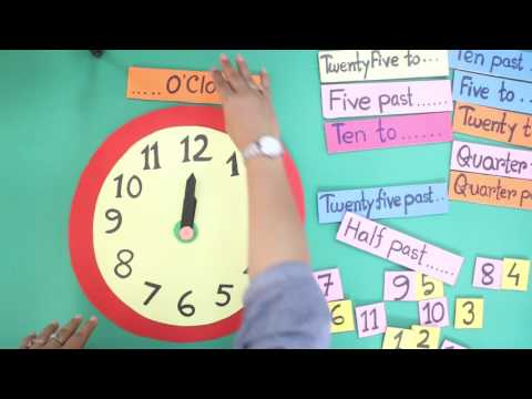 Teaching Children To Tell Time
