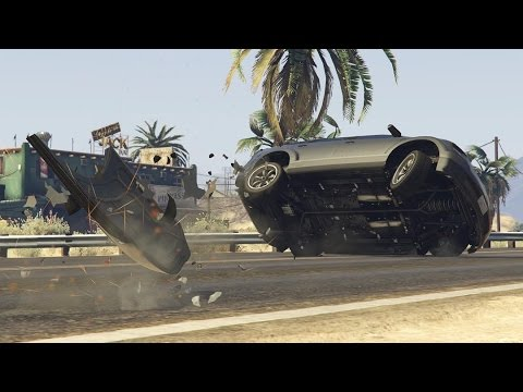 GTA 5 BRUTAL CAR CRASHES COMPILATION!!! thumbnail