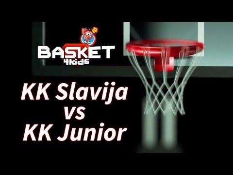 BASKET 4 KIDS | KK Slavija - KK Junior | Basket4Kids Podgorica