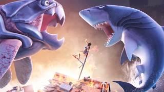 Sea Monster Battles! Megalodon vs Dunkleosteus - Jurassic World