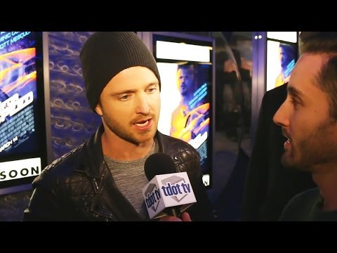 Breaking Bad's Aaron Paul and Film Director Scott Waugh on Need For Speed