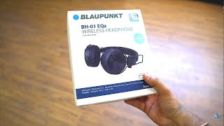 HINDI Blaupunkt BH01 REVIEW and UNBOXING wireless bluetooth headphones