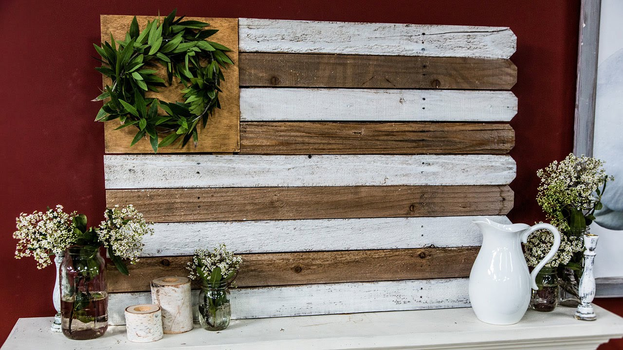 Kenneth Wingard's DIY Reclaimed Wood Flag - Kenneth Wingard's DIY Reclaimed Wood Flag - YouTube