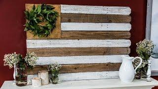 Kenneth Wingard's Diy Reclaimed Wood Flag
