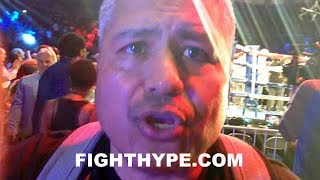 ROBERT GARCIA KEEPS IT REAL ON ERROL SPENCE FIGHTING MIKEY;
