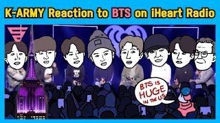 방탄이 우리 생각보다 더 큰 월드스타라는 증거가 된 아이하트라디오 리뷰 REACTION to BTS iHeartRadio Interview