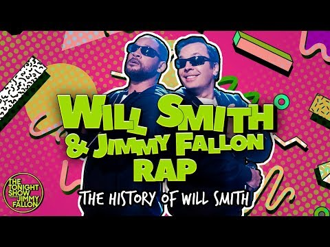 Angie Ward - Will Smith and Jimmy Fallon - Funny Rap of The History of Will Smith