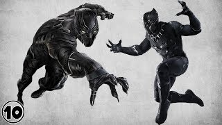 Top 10 Black Panther Shocking Facts