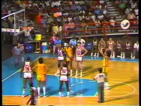 U.S. vs. Venezuela, 1983 Pan Am Basketball