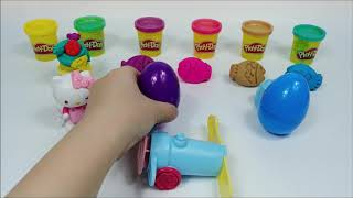 PlayDoh Fish Mold and Egg Toy Hello Kitty Doll