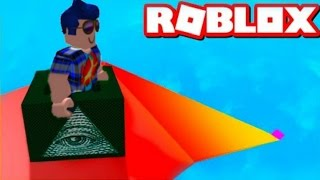 THE WORLD'S LARGEST SLIDE 999.999.999 METERS IN ROBLOX