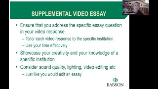 Babson & The Video Essay