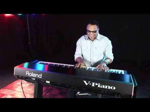 V-Piano Israel Houghton Interview