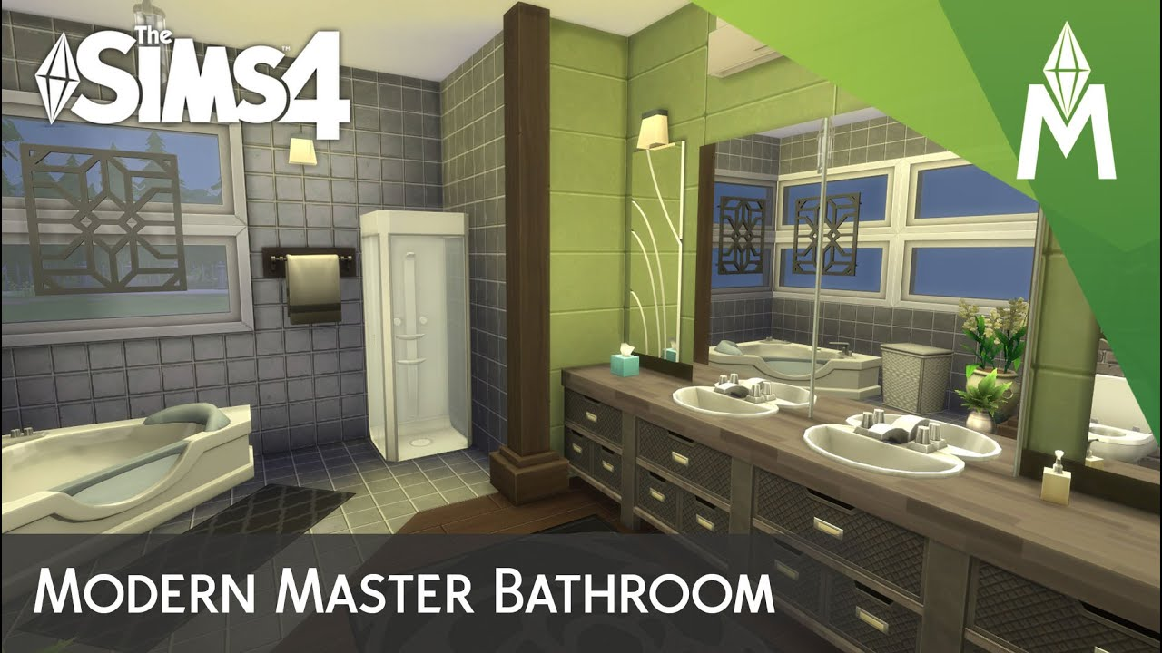 Is there a way i can do a cheat like deletehouses??? The Sims 4 Room Building - Modern Master Bathroom - YouTube