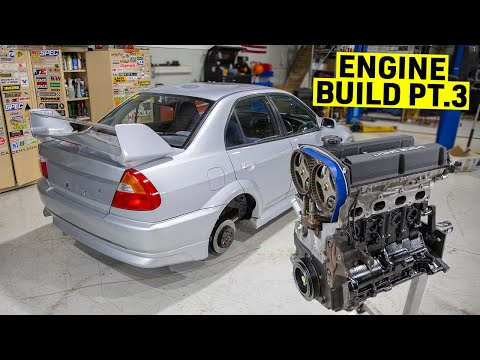 building-my-evo-6-into-an-sti-killer---4g63-engine-rebuild---timing-belt---part-11