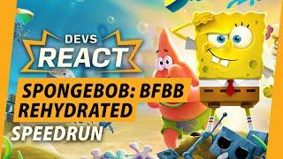 Spongebob: Battle for Bikini Bottom Developers React to 2 Minute Speedrun