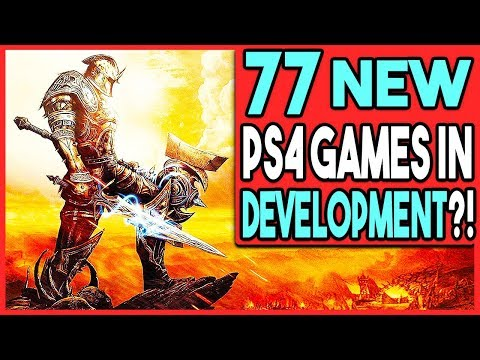 77 NEW PS4 GAMES IN DEVELOPMENT FROM ONE PUBLISHER?! - 동영상