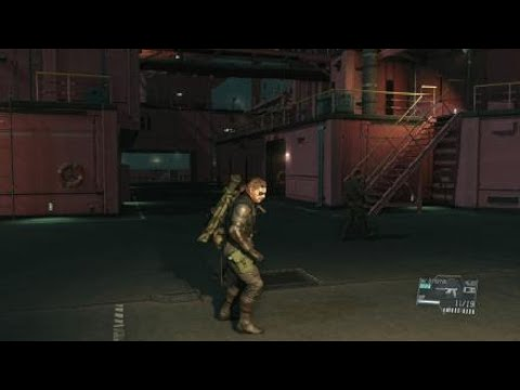 METAL GEAR SOLID V: THE DEFINITIVE EXPERIENCE beating up kids |