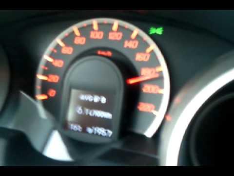 Скорость. Хонда Джаз 2