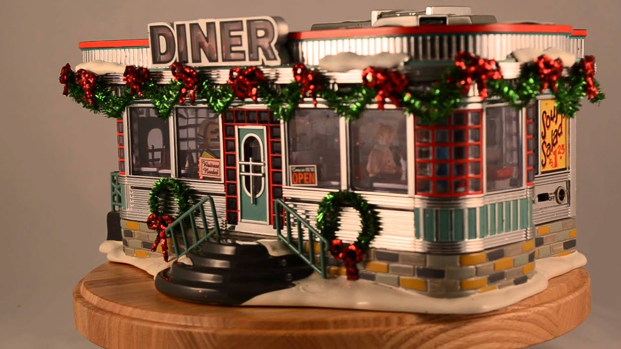 Christmas Village Diner – Merry Christmas And Happy New Year 2018
