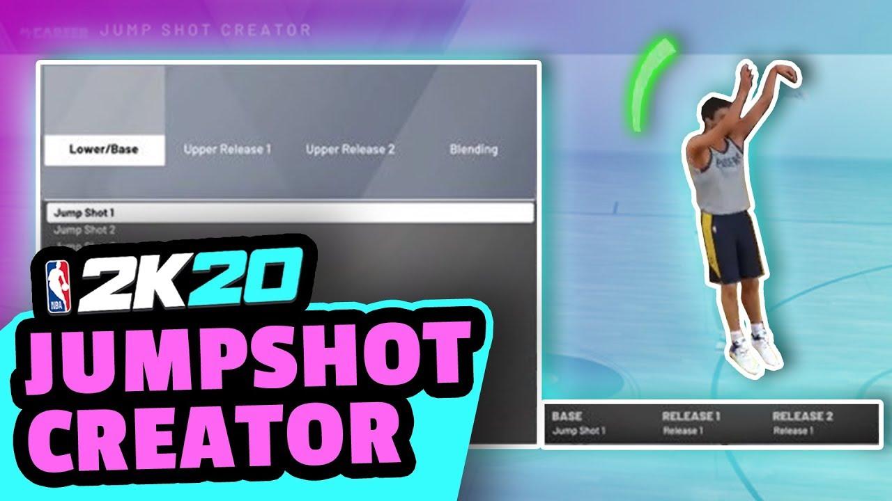 HOW TO UNLOCK JUMPSHOT CREATOR IN 2K20