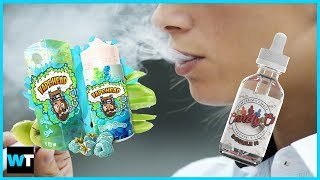 FDA Cracks Down on VAPE JUICES That Look Like CANDY! | What's Trending Now!