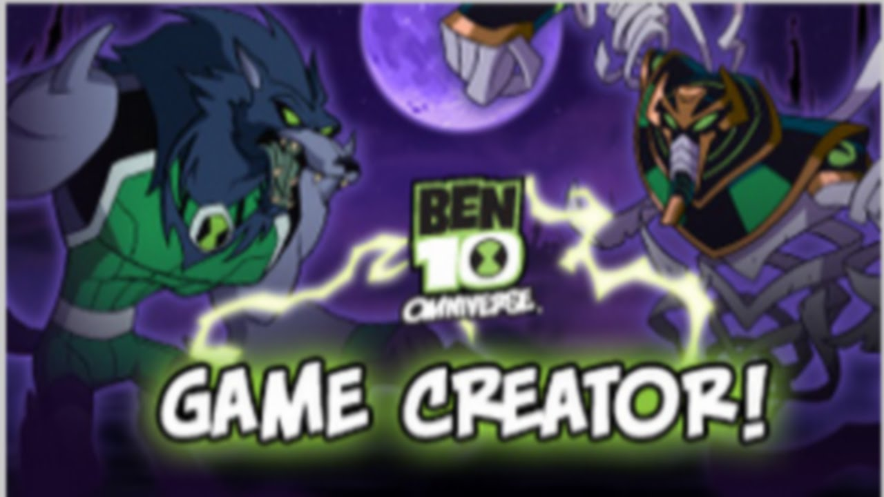 Cartoon Network Games Ben 10 Omniverse Game Creator Full