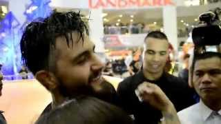 The Natural Born Killah in Manila - Carlos Condit in Trinoma