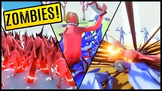 zombie horde vs dark peasant hillary m16 more totally accurate battle simulator gameplay tabs