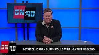 DN90: UGA apparently has a 'real' shot with 5-star DL Jordan Burch