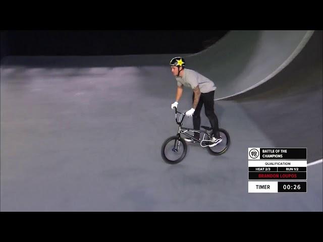 Brandon Loupos | 1st place – BMX Freestyle Park Pro Qualification | FISE Battle of the Champions 2