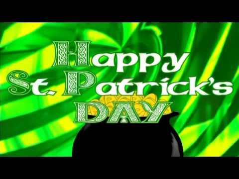 Video Loop St  Patrick's Day Irish Disco Karaoke Backdrop Screen Saver