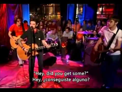 Dashboard Confessional - Hands Down - unplugged (español)