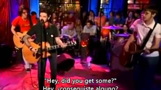 Dashboard Confessional - Hands Down - unplugged (español)