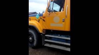 Alfred state HEO dump truck pre trip